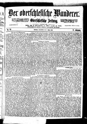 ˜Derœ Oberschlesische Wanderer vom 04.03.1899
