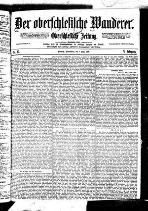 ˜Derœ Oberschlesische Wanderer vom 09.03.1899
