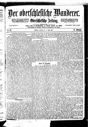 ˜Derœ Oberschlesische Wanderer vom 12.03.1899