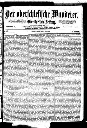 ˜Derœ Oberschlesische Wanderer vom 14.03.1899
