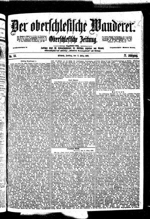 ˜Derœ Oberschlesische Wanderer vom 17.03.1899