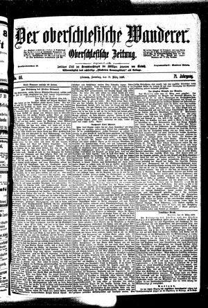 ˜Derœ Oberschlesische Wanderer vom 19.03.1899