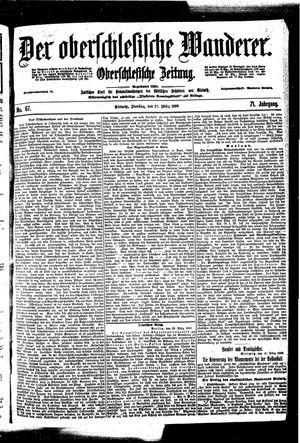 ˜Derœ Oberschlesische Wanderer on Mar 21, 1899