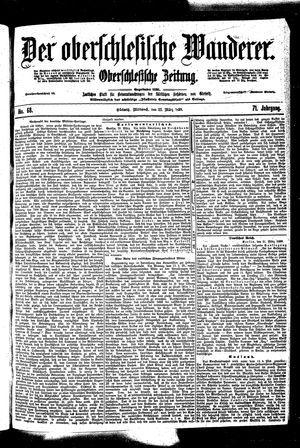 ˜Derœ Oberschlesische Wanderer vom 22.03.1899