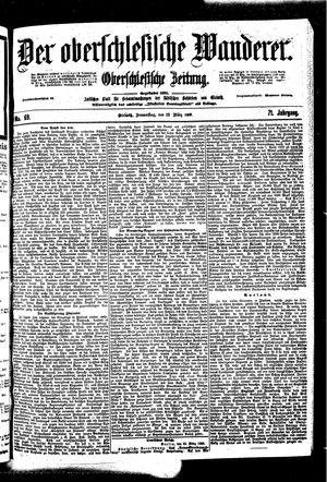 ˜Derœ Oberschlesische Wanderer vom 23.03.1899