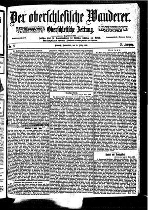 ˜Derœ Oberschlesische Wanderer vom 25.03.1899
