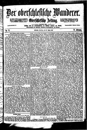 ˜Derœ Oberschlesische Wanderer vom 26.03.1899