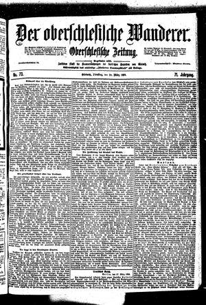 ˜Derœ Oberschlesische Wanderer vom 28.03.1899