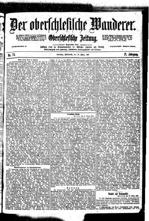 ˜Derœ Oberschlesische Wanderer vom 29.03.1899