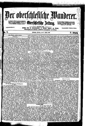 ˜Derœ Oberschlesische Wanderer vom 31.03.1899