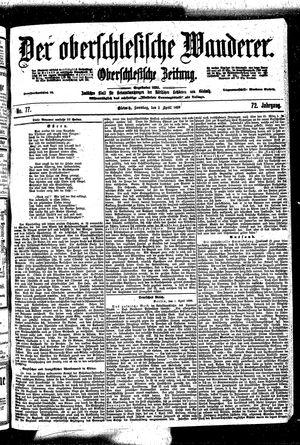 ˜Derœ Oberschlesische Wanderer vom 02.04.1899