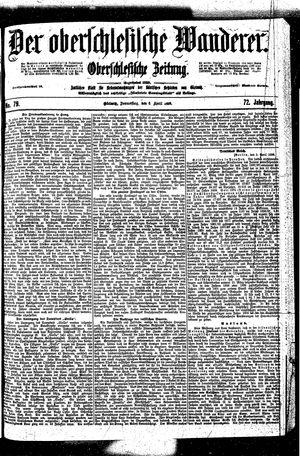 ˜Derœ Oberschlesische Wanderer vom 06.04.1899