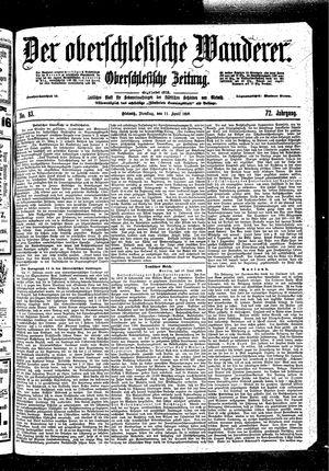 ˜Derœ Oberschlesische Wanderer vom 11.04.1899