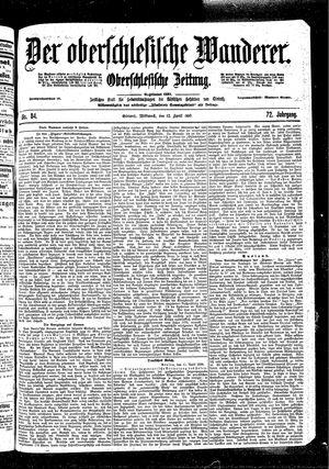 ˜Derœ Oberschlesische Wanderer vom 12.04.1899