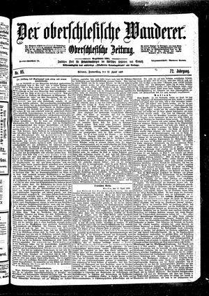 ˜Derœ Oberschlesische Wanderer vom 13.04.1899