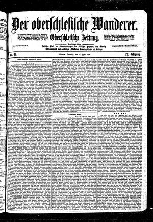˜Derœ Oberschlesische Wanderer vom 16.04.1899