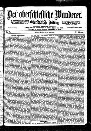˜Derœ Oberschlesische Wanderer vom 18.04.1899