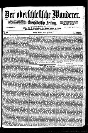 ˜Derœ Oberschlesische Wanderer vom 19.04.1899