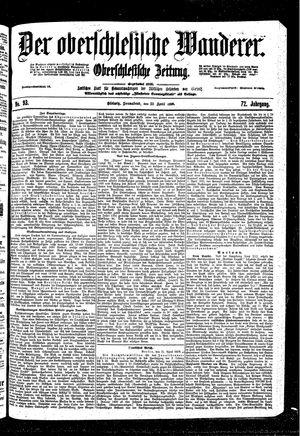 ˜Derœ Oberschlesische Wanderer vom 22.04.1899