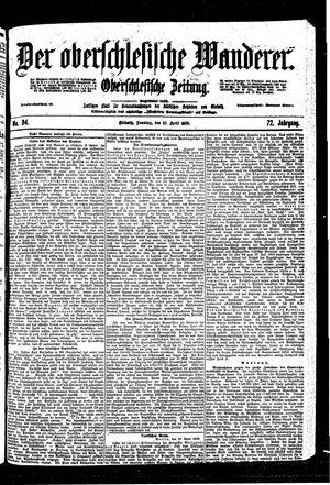 ˜Derœ Oberschlesische Wanderer vom 23.04.1899