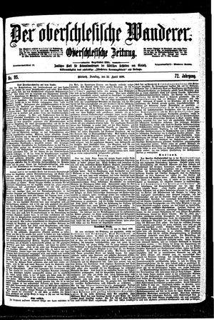 ˜Derœ Oberschlesische Wanderer vom 25.04.1899