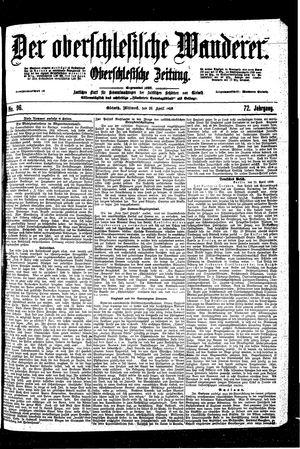 ˜Derœ Oberschlesische Wanderer vom 26.04.1899