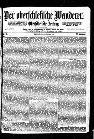 ˜Derœ Oberschlesische Wanderer vom 28.04.1899