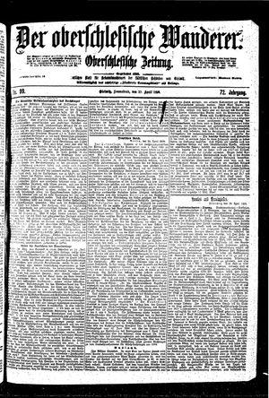 ˜Derœ Oberschlesische Wanderer vom 29.04.1899