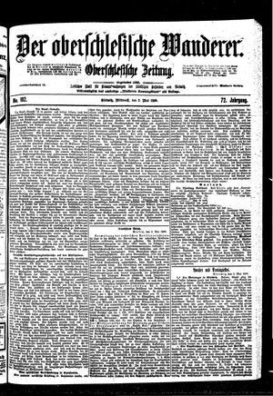 ˜Derœ Oberschlesische Wanderer vom 03.05.1899