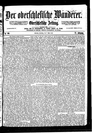 ˜Derœ Oberschlesische Wanderer vom 07.05.1899