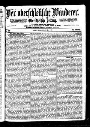 ˜Derœ Oberschlesische Wanderer vom 10.05.1899