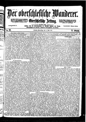 ˜Derœ Oberschlesische Wanderer vom 11.05.1899
