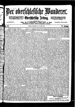 ˜Derœ Oberschlesische Wanderer vom 13.05.1899