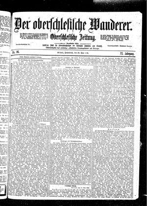 ˜Derœ Oberschlesische Wanderer vom 20.05.1899
