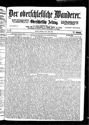 ˜Derœ Oberschlesische Wanderer vom 21.05.1899