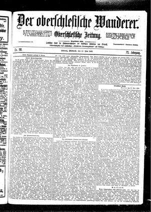 ˜Derœ Oberschlesische Wanderer vom 24.05.1899