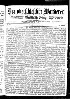 ˜Derœ Oberschlesische Wanderer vom 26.05.1899