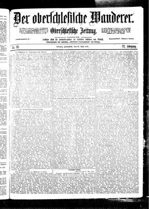˜Derœ Oberschlesische Wanderer vom 27.05.1899