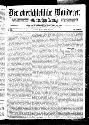 ˜Derœ Oberschlesische Wanderer vom 28.05.1899
