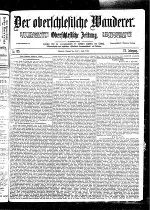 ˜Derœ Oberschlesische Wanderer vom 01.06.1899