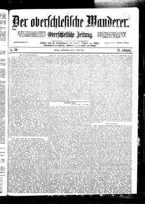 ˜Derœ Oberschlesische Wanderer vom 08.06.1899