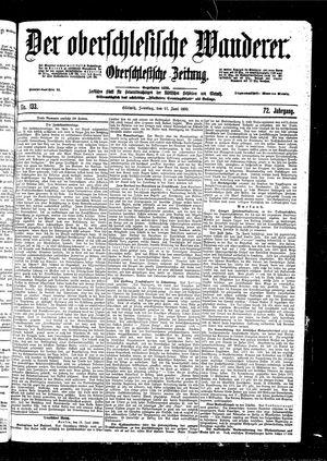 ˜Derœ Oberschlesische Wanderer vom 11.06.1899
