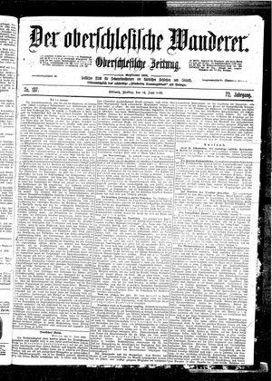 ˜Derœ Oberschlesische Wanderer vom 16.06.1899