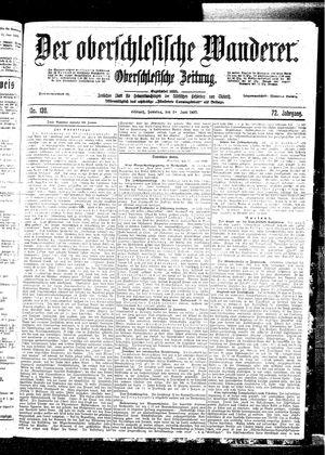 ˜Derœ Oberschlesische Wanderer vom 18.06.1899