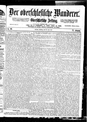 ˜Derœ Oberschlesische Wanderer vom 20.06.1899