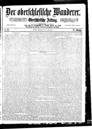 ˜Derœ Oberschlesische Wanderer vom 21.06.1899
