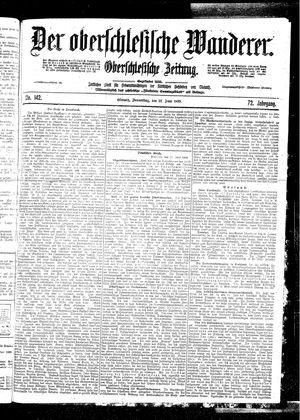 ˜Derœ Oberschlesische Wanderer vom 22.06.1899