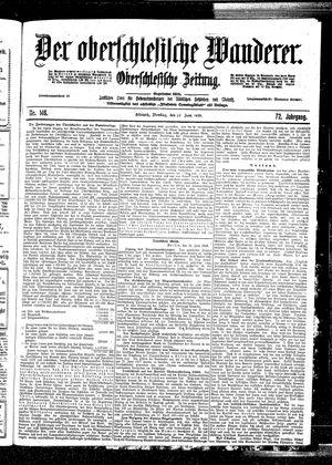 ˜Derœ Oberschlesische Wanderer vom 27.06.1899