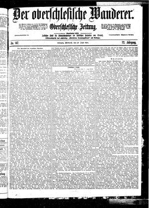 ˜Derœ Oberschlesische Wanderer vom 28.06.1899