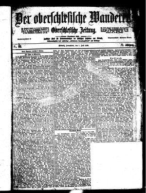 ˜Derœ Oberschlesische Wanderer vom 01.07.1899